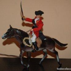 Madelman oficial casaca roja a caballo Georges Wahsington
