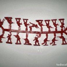 Reproducciones Figuras de Acción: MONTAPLEX 1 COLADA DE SOLDADOS CHINA POPULAR DEL SOBRE Nº 161 - COLOR GRANATE. Lote 74842611