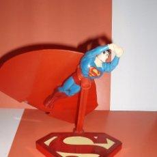 Reproducciones Figuras de Acción: FIGURA SUPERMAN CON BASE. Lote 75584287