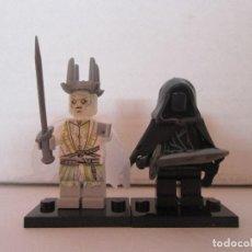 Reproducciones Figuras de Acción: LOTE MINIFIGURAS NAZGUL Y NAZGUL ESPECTRAL. LORD OF THE RINGS HOBBIT SEÑOR ANILLOS. COMP. LEGO!. Lote 78618533