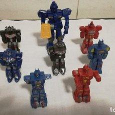Reproducciones Figuras de Acción: 2-LOTE 8 ROBOTS. Lote 82129024