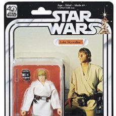 Reproducciones Figuras de Acción: FIGURA LUKE SKYWALKER 40TH ANNIVERSARY 15 CM - STAR WARS THE BLACK SERIES. Lote 83424776