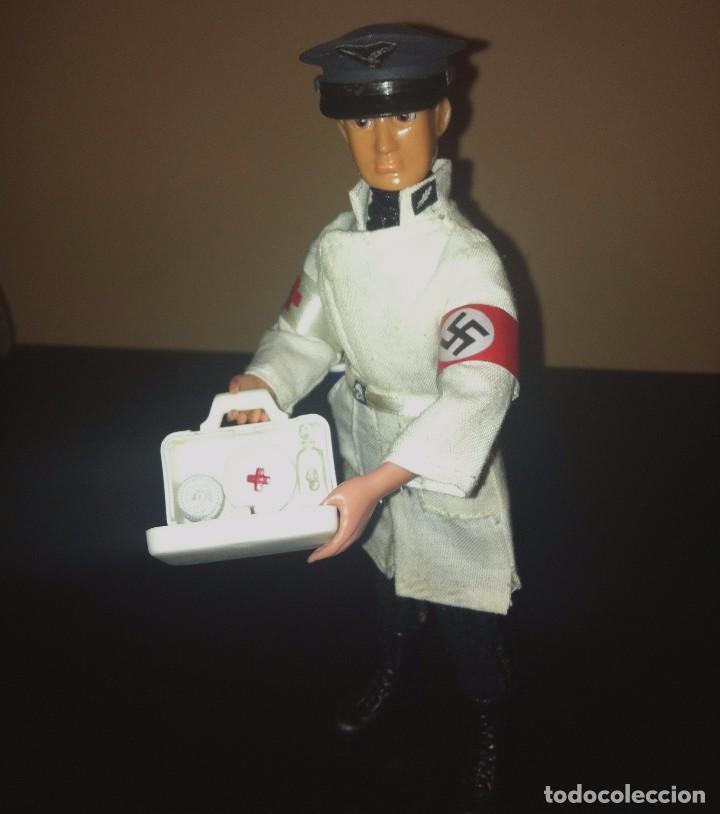 Reproducciones Figuras de Acción: Madelman MDE histórico IIWW Segunda Guerra Mundial medico militar alemán III Reich. Rudof Hess - Foto 2 - 86511628