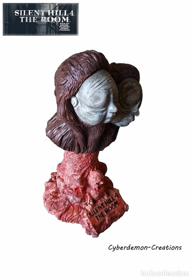 Silent Hill 4 The Room - Twin Victim Doublehead - Bust Resin ( ps2 xbox pc )