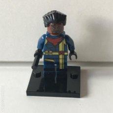 Reproducciones Figuras de Acción: MINIFIGURES X-MEN BISHOP COMPATIBLE LEGO. Lote 91948000