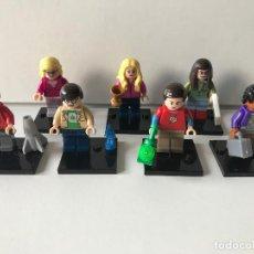 Reproducciones Figuras de Acción: MINIFIGURES THE BIG BANG THEORY COMPATIBLE LEGO. Lote 91948875