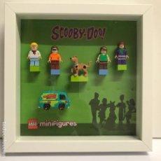 Reproducciones Figuras de Acción: CUADRO MINIFIGURES SCOOBY DOO COMPATIBLE LEGO. Lote 91952470