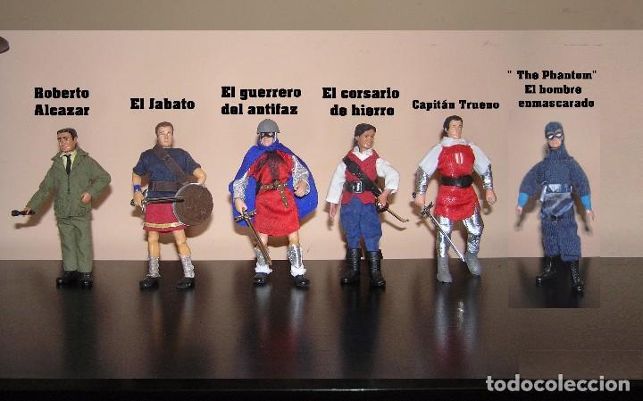Reproducciones Figuras de Acción: Madelman MDE serie heroes del comic español: El Guerrero del Antifaz - Foto 3 - 95513211