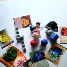 Reproducciones Figuras de Acción: LOTE BAKUGAN FIGURA ESFERAS TRANSFORMERS Y CARTAS. Lote 95697619