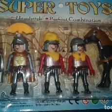 Reproducciones Figuras de Acción: BOOTLEG PLAYMOBIL ROMANOS KEYLY TOYS. Lote 96690751