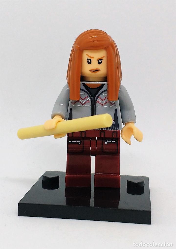 GINNY WEASLEY CON VARITA MINI FIGURA COMPATIBLE CON LEGO (Juguetes - Reproducciones Figuras de Acción)