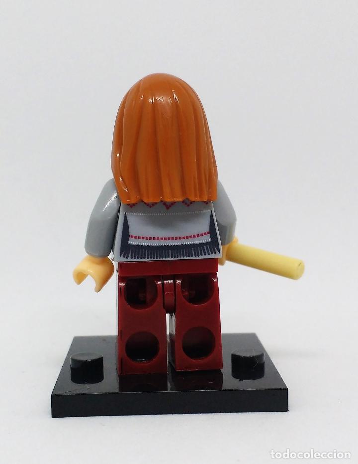Reproducciones Figuras de Acción: GINNY WEASLEY CON VARITA MINI FIGURA COMPATIBLE CON LEGO - Foto 2 - 97209751