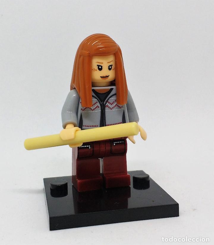 Reproducciones Figuras de Acción: GINNY WEASLEY CON VARITA MINI FIGURA COMPATIBLE CON LEGO - Foto 3 - 97209751