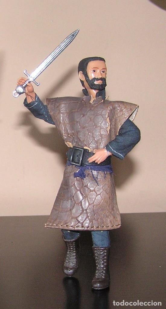 Reproducciones Figuras de Acción: Madelman MDE historico caballero medieval - Foto 3 - 97826611