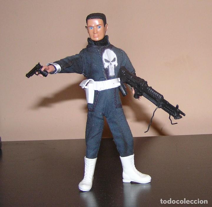 Reproducciones Figuras de Acción: Madelman MDE superheroes 4 The Punisher El Castigador - Foto 2 - 97826948
