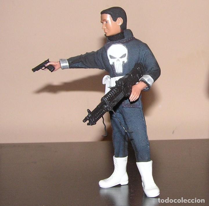 Reproducciones Figuras de Acción: Madelman MDE superheroes 4 The Punisher El Castigador - Foto 3 - 97826948