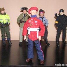 Reproducciones Figuras de Acción: MADELMAN MDE SERIE POLICIA 8 ERTZAINTZA ERTZAINA. Lote 104387410