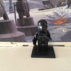 Reproducciones Figuras de Acción: STAR WARS TIE FIGHTER PILOT PRIMERA ORDEN EL DESPERTAR DE LA FUERZA MINIFIGURA TIPO COMPATIBLE LEGO. Lote 106127518
