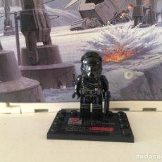 Reproducciones Figuras de Acción: STAR WARS TIE FIGHTER PILOT PRIMERA ORDEN EL DESPERTAR DE LA FUERZA MINIFIGURA TIPO COMPATIBLE LEGO. Lote 106127992