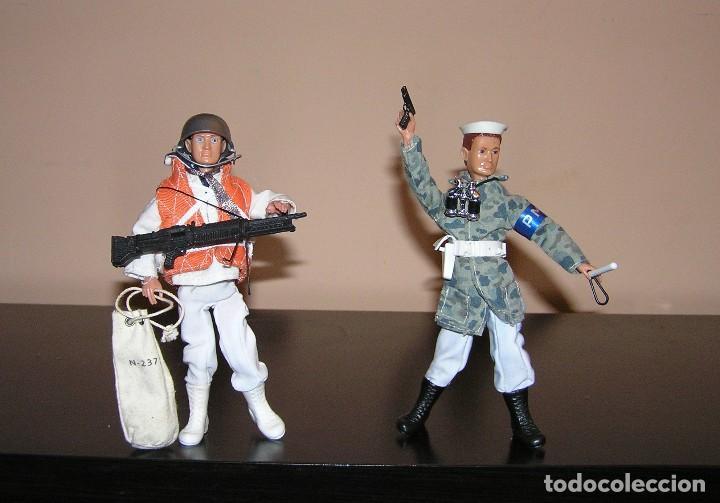 Reproducciones Figuras de Acción: Madelman MDE lote Armada Marina. Artillero, Policia del Mar y dos marineros. - Foto 4 - 144140009