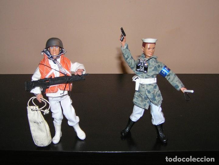 Reproducciones Figuras de Acción: Madelman MDE lote Armada Marina. Artillero, Policia del Mar y dos marineros. - Foto 5 - 144140009