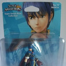 Reproducciones Figuras de Acción: AMIIBO MARTH SUPER SMASH BROS COLLECTION Nº 12 + REGALO POSTER OFICIAL AMIIBO. Lote 108755255