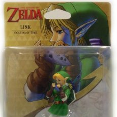 Reproducciones Figuras de Acción: AMIIBO LINK OCARINA OF TIME, THE LEGEND OF ZELDA + REGALO POSTER OFICIAL AMIIBO. Lote 108755827