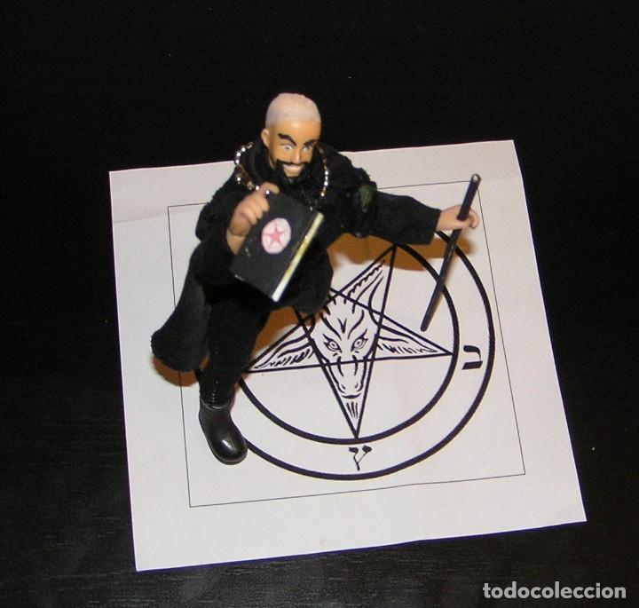 Reproducciones Figuras de Acción: Madelman MDE. Sectas. Anton LaVey Iglesia de Satán - Foto 4 - 109108447
