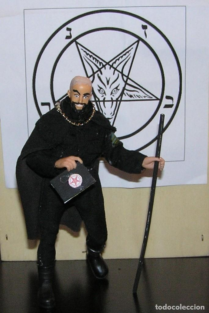 Reproducciones Figuras de Acción: Madelman MDE. Sectas. Anton LaVey Iglesia de Satán - Foto 5 - 109108447