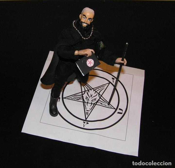 Reproducciones Figuras de Acción: Madelman MDE. Sectas. Anton LaVey Iglesia de Satán - Foto 6 - 109108447