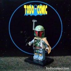 Reproducciones Figuras de Acción: BOBA FETT / FIGURA LEGO STAR WARS / CHINA. Lote 117280111