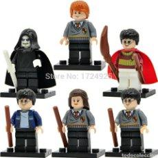 Reproducciones Figuras de Acción: HARRY POTTER LEGO COMPATIBLE. Lote 121083290