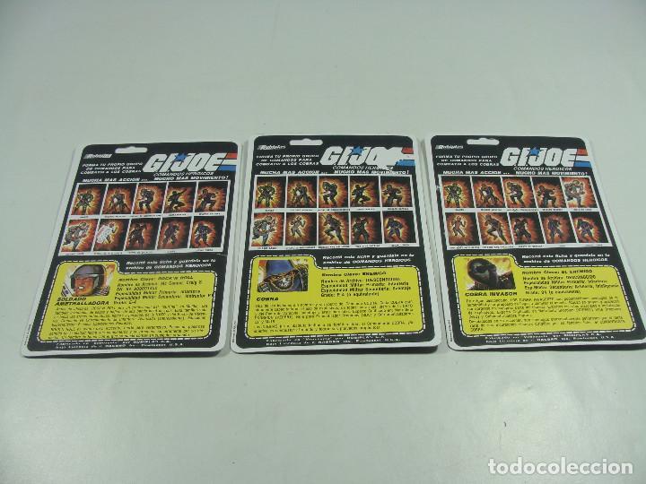 Reproducciones Figuras de Acción: Set de 3 REPRODUCCIONES de Full Cardbacks de Rubiplas Venezuela 1991 Cobra Invasor Soldier - GIJoe - Foto 2 - 121268239
