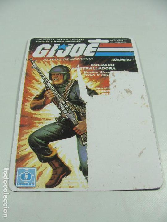 Reproducciones Figuras de Acción: Set de 3 REPRODUCCIONES de Full Cardbacks de Rubiplas Venezuela 1991 Cobra Invasor Soldier - GIJoe - Foto 7 - 121268239