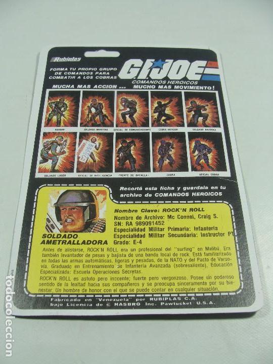 Reproducciones Figuras de Acción: Set de 3 REPRODUCCIONES de Full Cardbacks de Rubiplas Venezuela 1991 Cobra Invasor Soldier - GIJoe - Foto 8 - 121268239