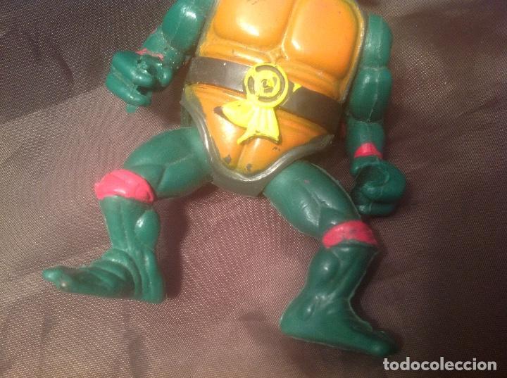 Reproducciones Figuras de Acción: Bootleg de las Tortugas Ninja / Turtles Figthers años 80 - Foto 5 - 126905575