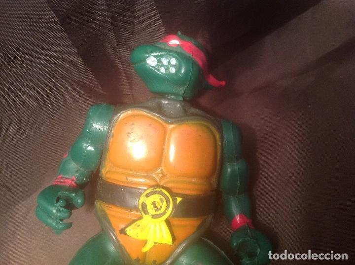 Reproducciones Figuras de Acción: Bootleg de las Tortugas Ninja / Turtles Figthers años 80 - Foto 6 - 126905575