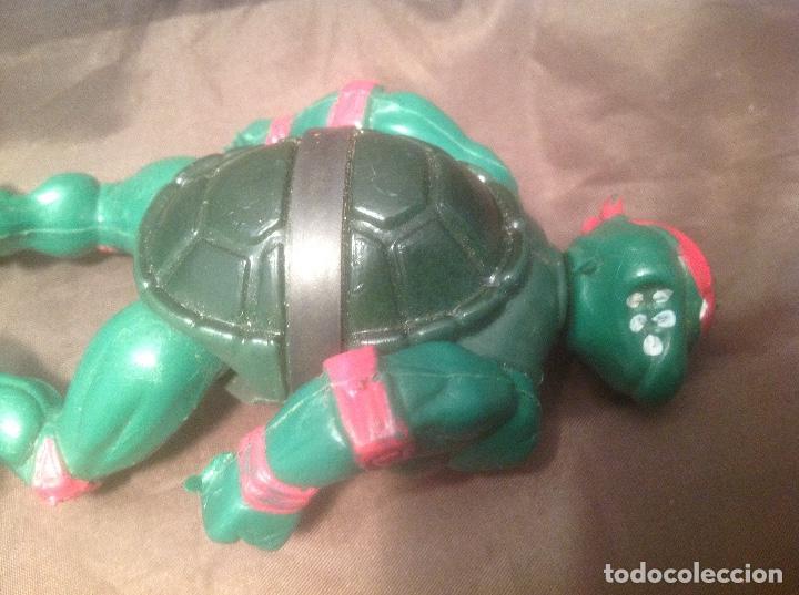 Reproducciones Figuras de Acción: Bootleg de las Tortugas Ninja / Turtles Figthers años 80 - Foto 7 - 126905575