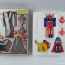 Reproducciones Figuras de Acción: RARA FIGURA TRANSFORMABLE DE PLASTICO, GODSPHINX, BUEN ESTADO EN SU CAJA (FALTA LA ESPADA).. Lote 126946871