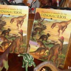 Reproducciones Figuras de Acción: COLECCION DESCUBRE EL MUNDO DE LOS DINOSAURIOS DEL AÑO 2000 EDITADO POR SALVAT, NUEVA. Lote 129974303
