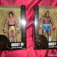 Reproducciones Figuras de Acción: FIGURAS DE ROCKY Y M.T EN BLISTER. Lote 131384746