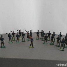 Reproducciones Figuras de Acción: LOTE DE FIGURAS DE PLOMO DE EJERCITO ESPAÑOL MUY ANTIGUAS UNOS 3,5 CM . Lote 138758142