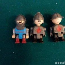 Reproducciones Figuras de Acción: LOTE DE 3 PERSONAJES PARECIDO A LEGO. Lote 146086038