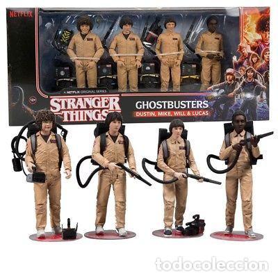 STRANGER THINGS ( PACK GHOSTBUSTERS). (Juguetes - Reproducciones Figuras de Acción)