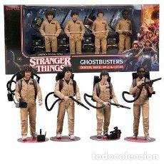 Reproducciones Figuras de Acción: STRANGER THINGS ( PACK GHOSTBUSTERS).. Lote 146284130