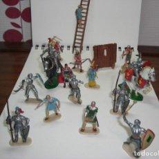 Reproducciones Figuras de Acción: HISTOREX EXIN CASTILLOS. FIGURAS DE ELASTOLIN.. Lote 146696030