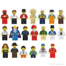 Reproducciones Figuras de Acción: LOTE 20 FIGURAS VARIADAS. FIGURAS COMPATIBLES. SUELTAS, EN BOLSITAS.. Lote 219289782