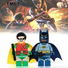 Reproducciones Figuras de Acción: SUPERMAN Y ROBIN LEGO COMPATIBLE. Lote 149259040