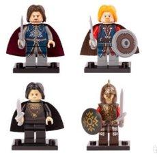 Reproducciones Figuras de Acción: LOTE DE 8 FIGURAS COMPATIBLES CON LEGO THE HOBBIT EL SEÑOR DE LOS ANILLOS. Lote 151041550