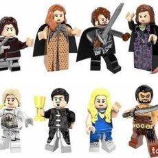 Reproducciones Figuras de Acción: LOTE DE 12 FIGURAS COMPATIBLES CON LEGO JUEGO DE TRONOS. Lote 151176402